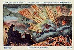 Bicentenario de los sitios: Explosión del polvorín zaragozano