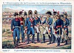 Bicentenario de la Guerra de  Independencia: Castaños y Dupont